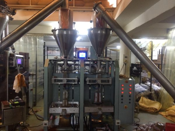 Form Fill & Seal Powder Pouch Packing Machine (Telescopic Cup Filler)
