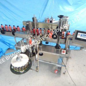 Flat Bottle Double Side Labelling Machine