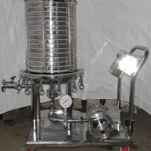 Horizontal Plate Type Filter Press GMP Model