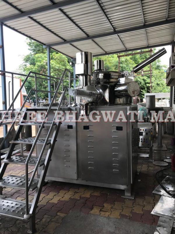Rapid Mixer Granulator, High Shear Mixer Granulator