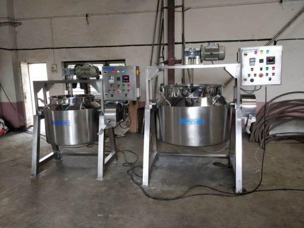 Paste Kettle GMP Model up to 2,00,000 Tablets Per Hour Output