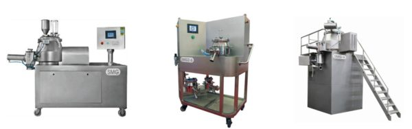 Rapid mixer Granulator with Co – mill