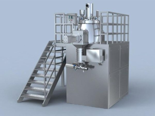 Rapid mixer Granulator with Co-mill