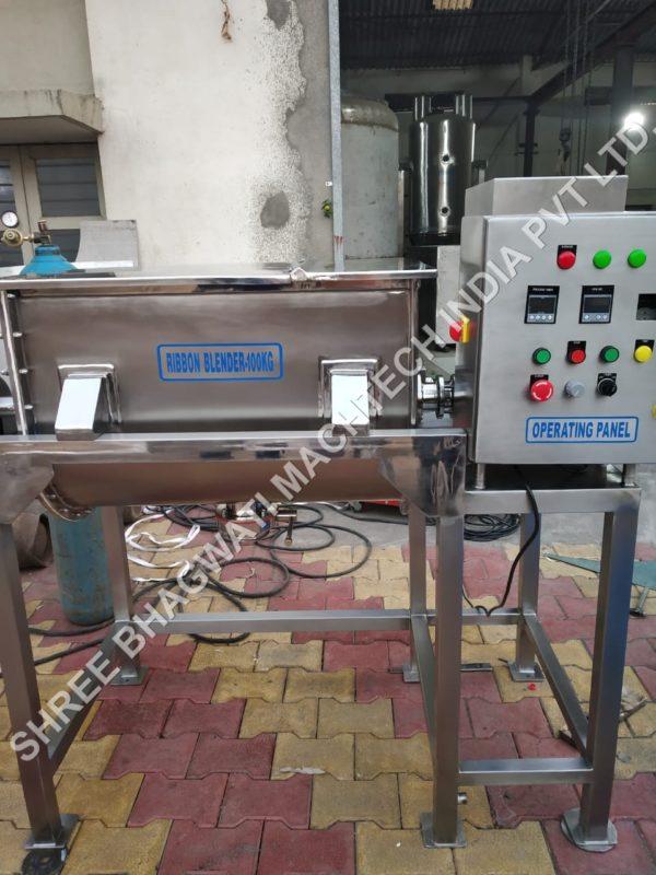 Ribbon Mixer Machine