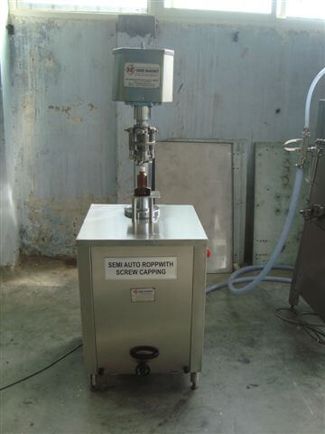ROPP Cap Sealing Machine Model No. SBCS - 40R GMP Model