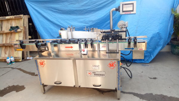 Self Adhesive Vial & Bottle Labeling Machine