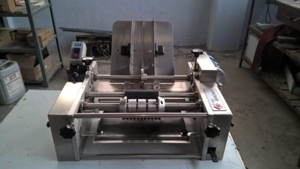 Semi Automatic Wet Glue Labelling Machine Model No. SBL-40