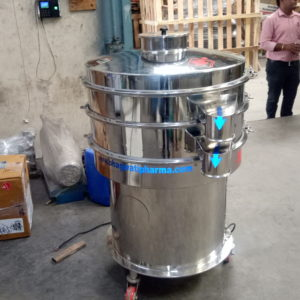 Vibro Sifter GMP Model up to 50-800 Kgs. Per Hour Output