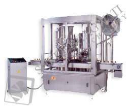 Rotary Piston Filling & Capping Machine