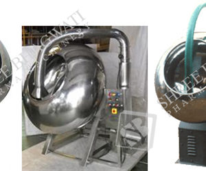 Coating Pan GMP Model up to 25 to 250 Kgs. Loading Capacity