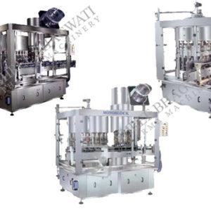 Gravity Filler cum ROPP Cap Sealer Gravity Block - SBGF