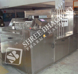 Linear Tunnel Type Vial Washing Machine