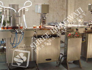 Monoblock Linear Double Head Piston Filling cum Single Head Ropp Cap Sealing Machine