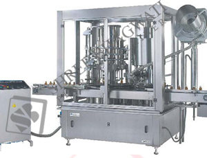 Rotary Monoblock Piston Filling Cum Ropp Sealing Machine SBRPM-16/8 GMP Model