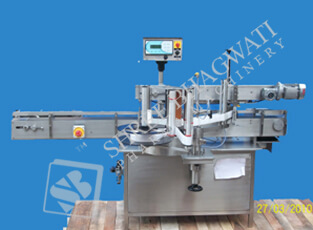 Single Side Flat Sticker Labelling Machine