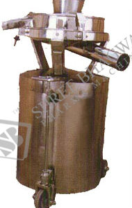 Sifter with IPC and IPC Stand up to 100 Kgs. To 200 Kgs. Per Hour Output