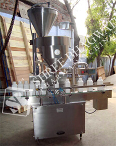 Granule Filling Machine - Volumetric Cup Type Powder Filling Machine