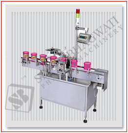 Automatic Single Side Bottle Sticker Labeling Machine 200 to 400 Labels Per Minute Output