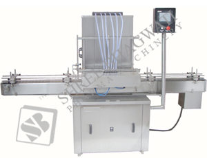 ACCUFILL Liquid Bottle Filling Machine Model No. ACCUFILL-150 GMP Model
