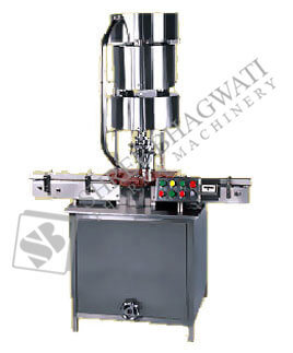 Single Head Vial Cap Sealing cum Ropp Cap Sealing Machine SBCS-60