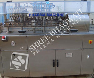 External Vial Washing Machine Model No. SBEW-200 GMP Model