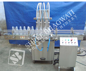 Automatic Four Head Vertical Air-jet Cleaning Machine up to 60 Bottles Per Minute Output