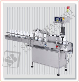 Automatic Self Adhesive Vertical Sticker Labelling Machine Model No. SBSL-120