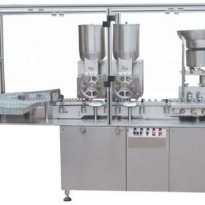 injectable powder filling double head high speed