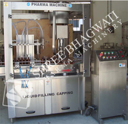 Automatic Monoblock Linear Twenty Four Head Piston Filling cum Single Head ROPP Cap Sealing Machine