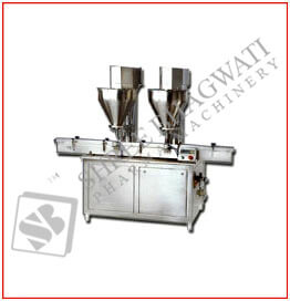 Automatic Auger Powder Filler Machine up to 30 to 80 Bottles Per Minute