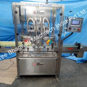 4 Head Viscous jelly filling machine (4)