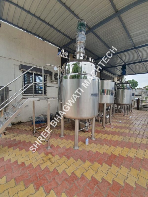 Hand Wash Manufacturing machine