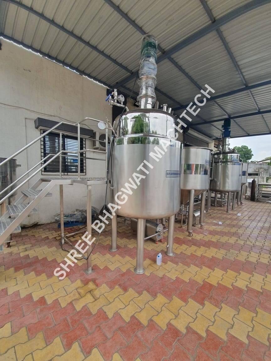 Hand Wash Manufacturing machine
