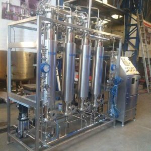 WFI Plant , multi column distillation plant