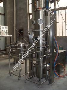 fluidized bed coating equipment for powder