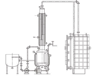 Vacuum Tray Dryer machine layout