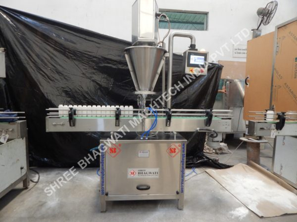 Servo Auger Powder filler