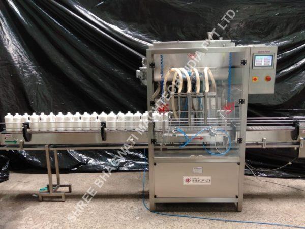 Hand Wash Filling Machine , Liquid Soap Filling machine, Hand Wash Liquid Filling Machine Disinfection Liquid Filler