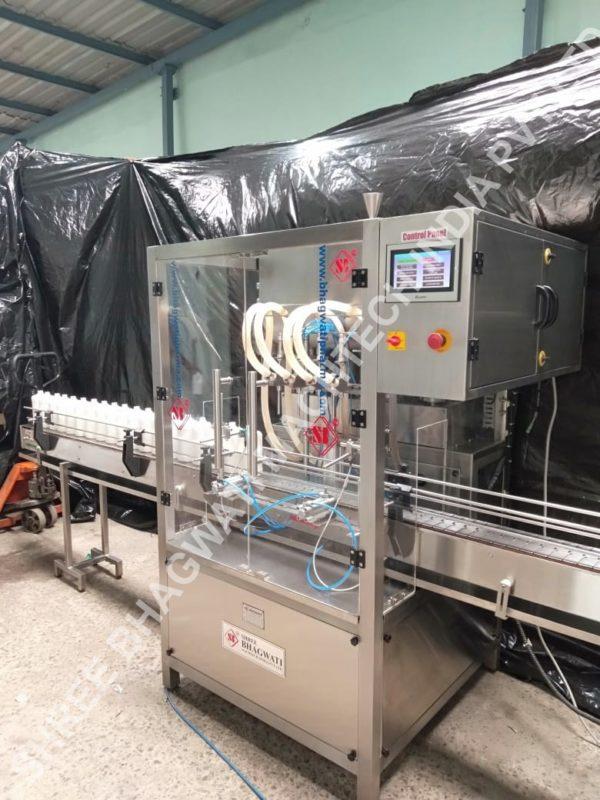 Bottle Liquid Soap Filling machine, Hand Wash Liquid Filling Machine