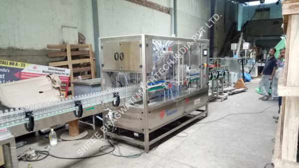 Hand gel filling and capping machine , Automatic Hand Wash Sanitizer Bottle Filling Machine , Body Lotion Body Wash Filling Machine