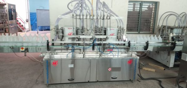 Liquid Soap Filling Machine , Liquid Detergent Filling Machine ,Glass Cleaner filling machine ,Floor Cleaner Liquid Filling & Capping Machine