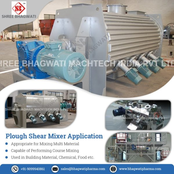 Ploughshare Mixers