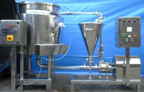 High Shear In-Line Mixers