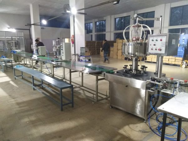 perfume filling line, deo filling line, deo filling machine and perfume filling machine manufacturers,