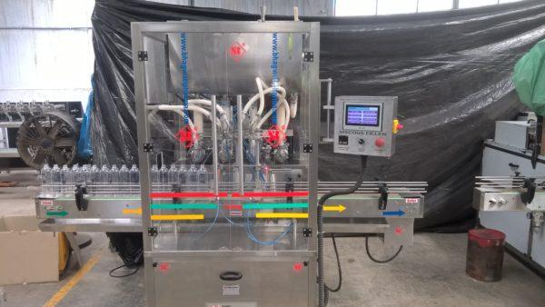 disinfectant bottle liquid filling machine