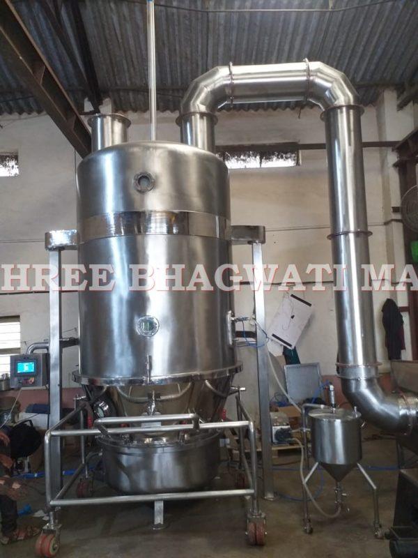 Fluid Bed Top Spray Granulation Fluid Bed Equpment, Processor, Top Spray Granulation