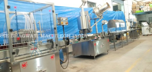 Oral Liquid/Syrup Filling Production Line