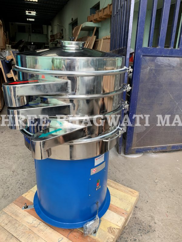 Vibro sifter - Non GMP for Ink , Paints , Pulp , Agriculture, Fertilizer