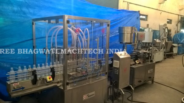 Edible Oil Filling & Capping machine, Vegetable Oil Filling Machine