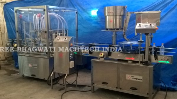 Edible Oil Filling line, Mustered Oil packing line, Lubricant / Motor oil filling & packing line